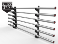 BARS WALL RACK 6