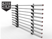 BARS WALL RACK 9