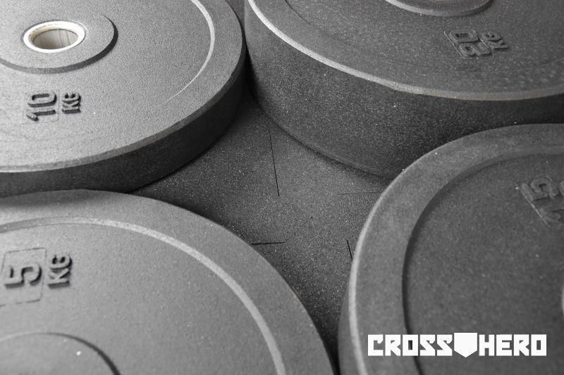 bumper crossfit zestaw bumperów obciążenia bumperowe 5 10 15 20 kg crosshero1