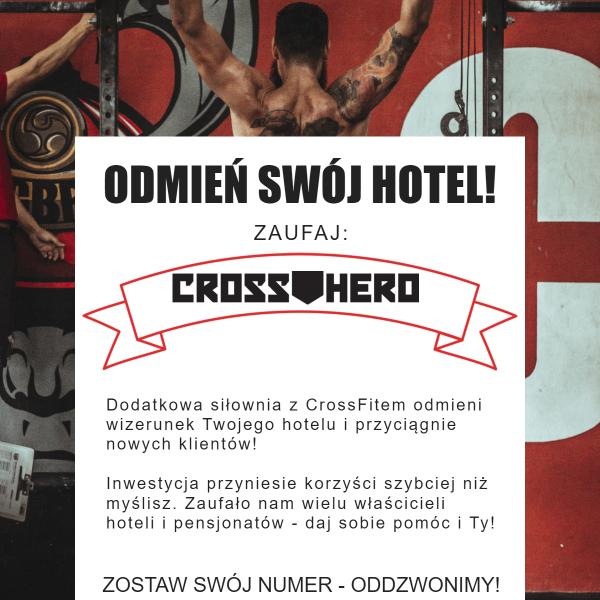 siłownia w hotelu_crosshero