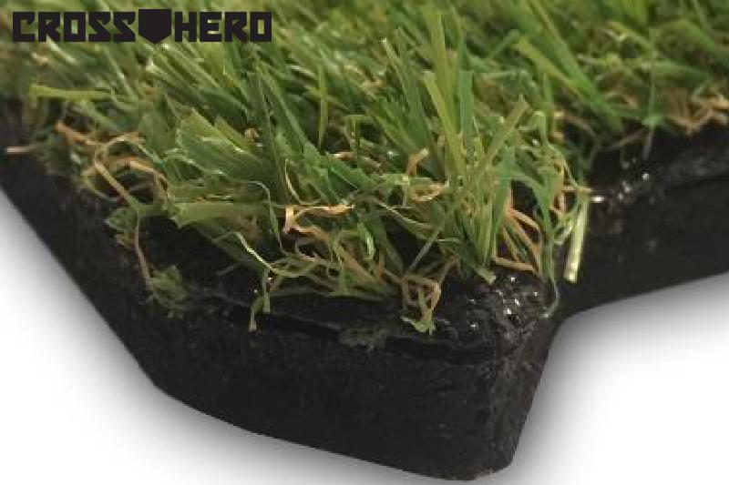podłoga trawa puzzle CrossHero