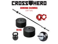 Zestaw Siłownia Domowa 1_CrossHero