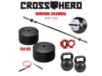Zestaw Siłownia Domowa 2_CrossHero