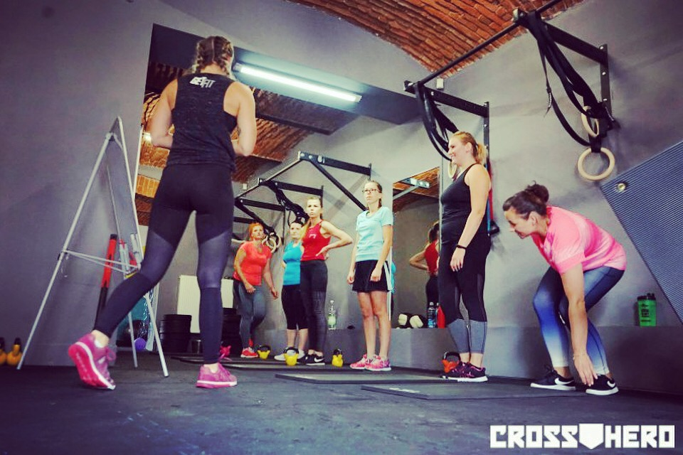 Get Fit Club CrossFit drążki PUll Up